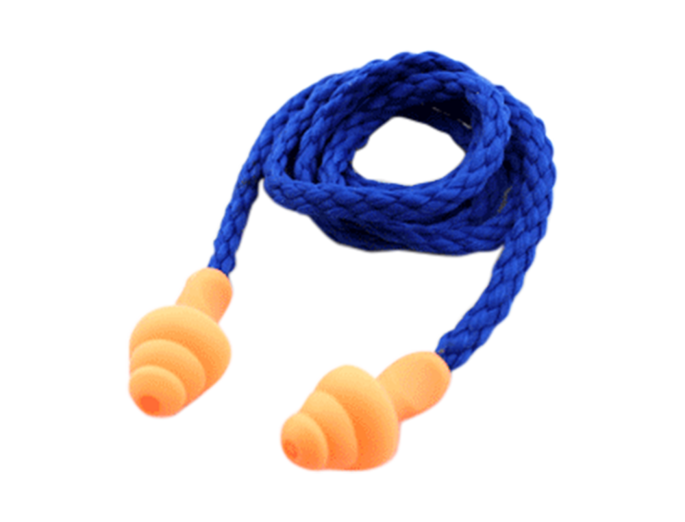 Silicone Corded Ear Plugs